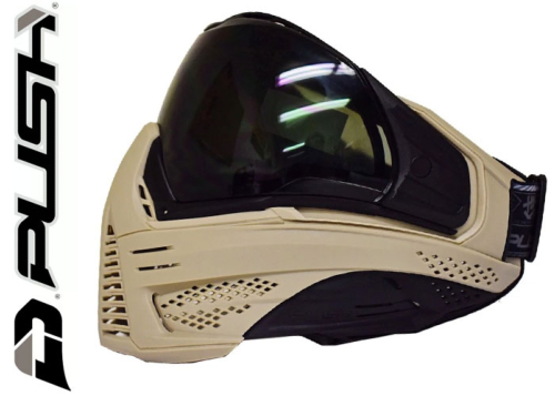 Masque Paintball Push Unite - tan