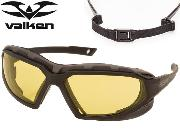Lunettes de protection Valken V-TAC Echo yellow