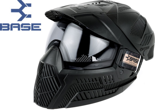 Masque Paintball Base GS-O thermal Full Coverage black
