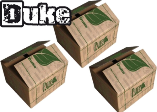 Lot de 3 cartons de 2000 billes Duke Pure