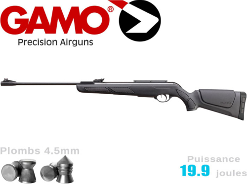 Carabine à plombs Gamo Shadow 1000 DX fixe 5.5mm 19.9j