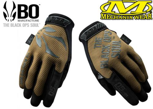 Gants Mechanix / B.O Manufacture MTO Touch coyote - M