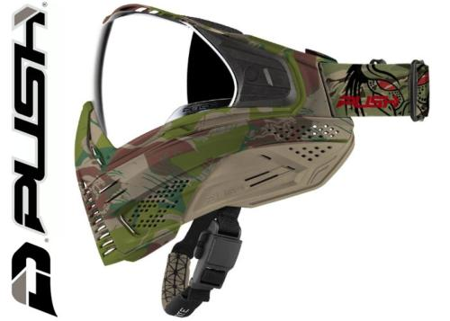 Masque Paintball Push Unite - Predator camo