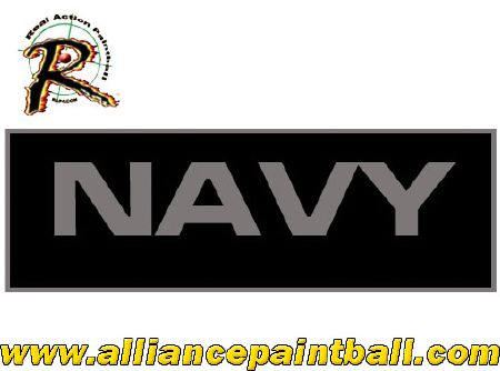 Patch grande taille Navy