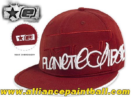 Casquette Planet Eclipse Signature cap red