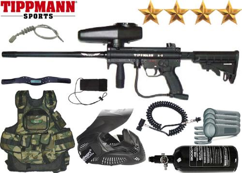 Battle Pack Tippmann A5 California air comprimé + 500 billes offertes