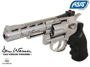 "Réplique Airsoft Dan Wesson 4"" silver Co2"