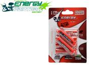 6 Piles LR6 rechargeables Energy Paintball
