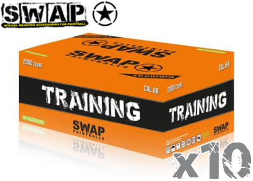 Lot de 10 cartons de 2000 billes SWAP Training
