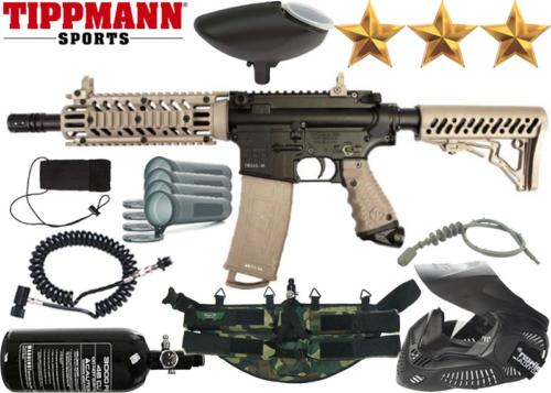 Ranger Pack Tippmann TMC black tan air comprimé