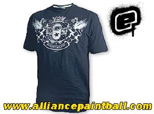 Tee-shirt Planet Eclipse Conquer grey