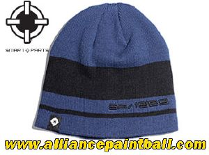 Beanie Smart Parts black & blue