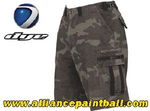 Short Dye Fort Bragg 09 Black Camo taille US 30